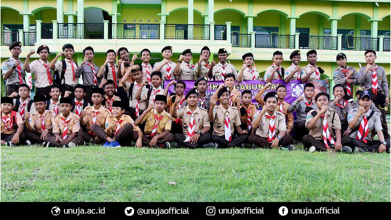 Latihan Gabungan (LATGAB) Pramuka Universitas Nurul Jadid