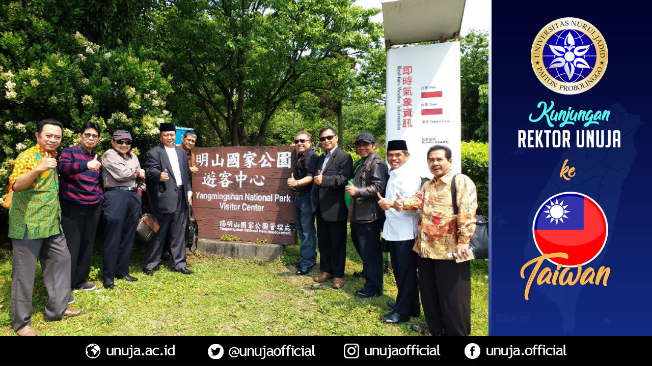 Rektor berkunjung ke Yangmingsan National Park