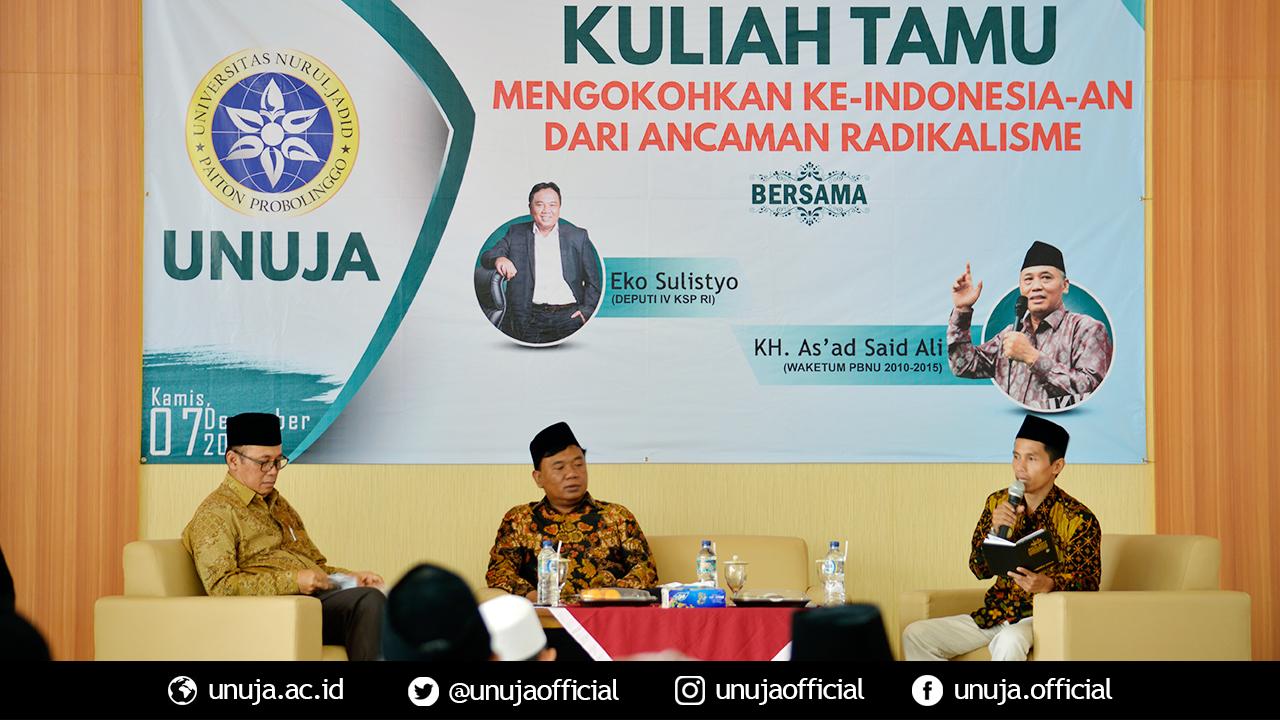 Kuliah Tamu; Mengokohkan Ke-Indonesia-an dari Ancaman Radikalisme