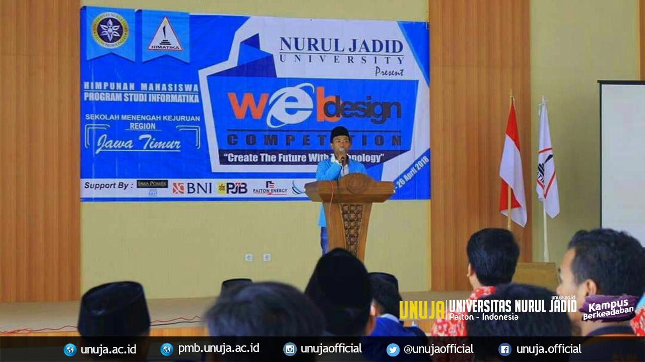 HIMATIKA UNUJA; Selenggarakan Web Design Competition SMK Se-Jawa Timur