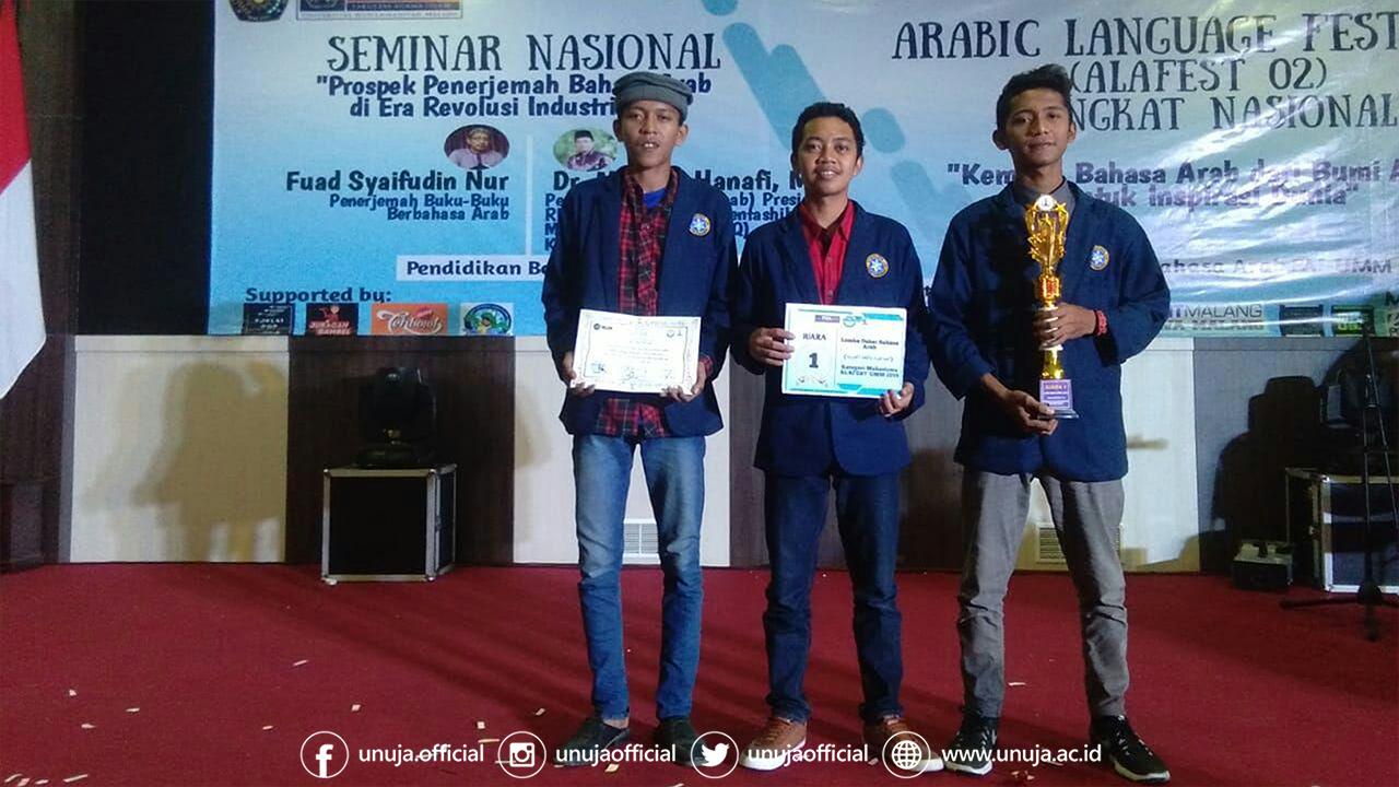 Langganan Juara; Kiprah 3 Mahasiswa Juarai Lomba Tingkat Nasional