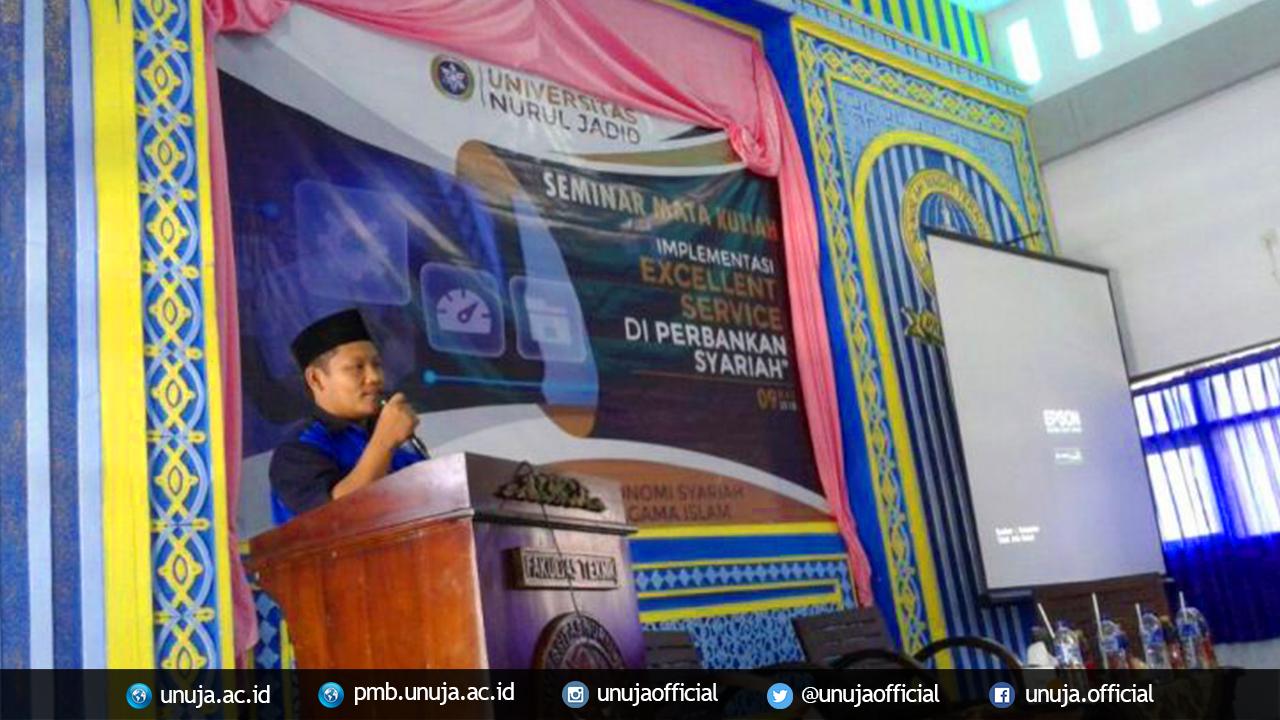 Mahasiswa UNUJA Dalami <i>Excellent Service</i> Perbankan Syariah