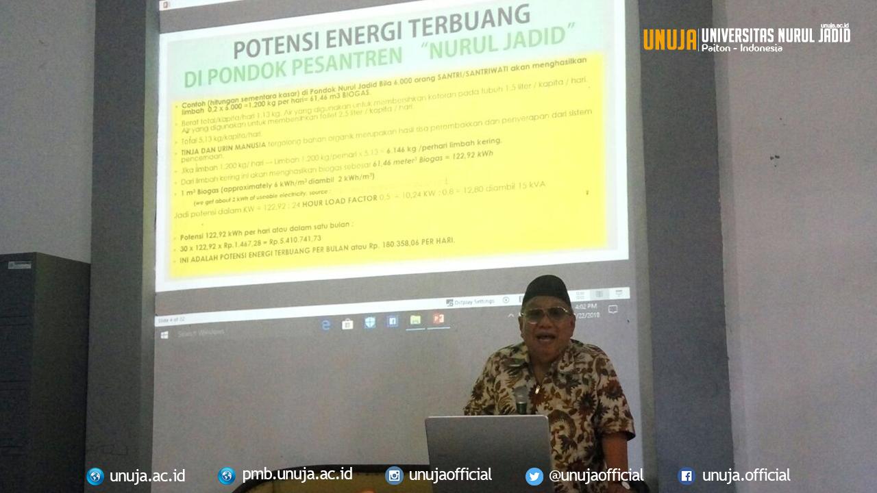 <i>Ngabuburit</i> Prodi Teknik Elektro; Gelar Dialog Interaktif Pemanfaatan Energi Terbuang