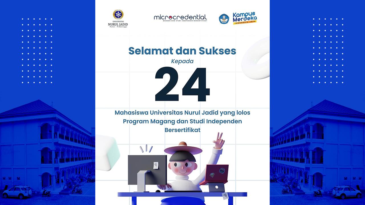 24 Mahasiswa UNUJA Lolos Program MSIB 2021 Kemdikbud