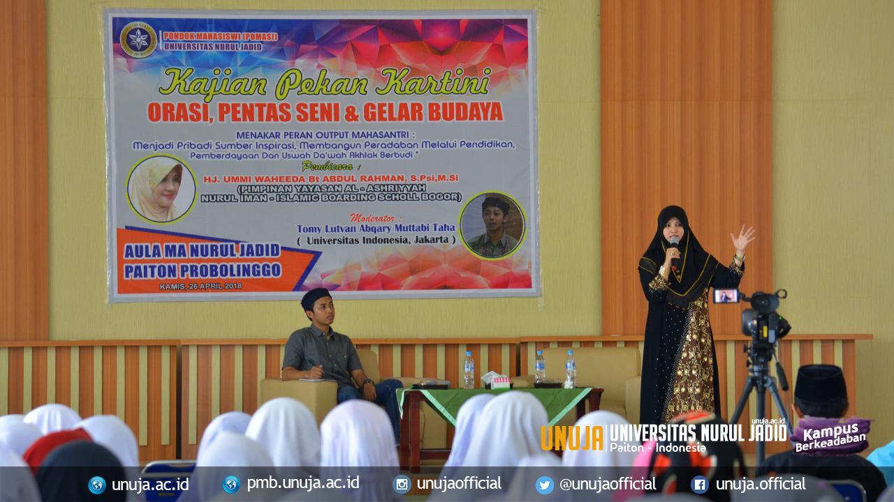 Pomasi; Siti Khadijah dan Siti Fatimah Zaman Now