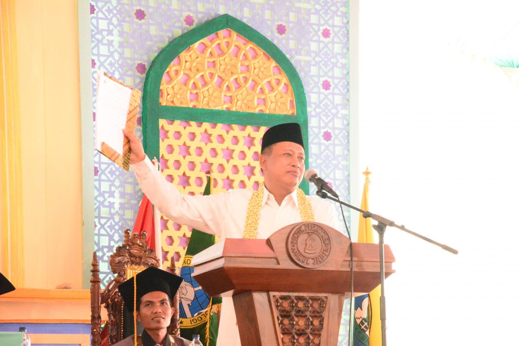 Menristekdikti Resmikan Universitas Nurul Jadid