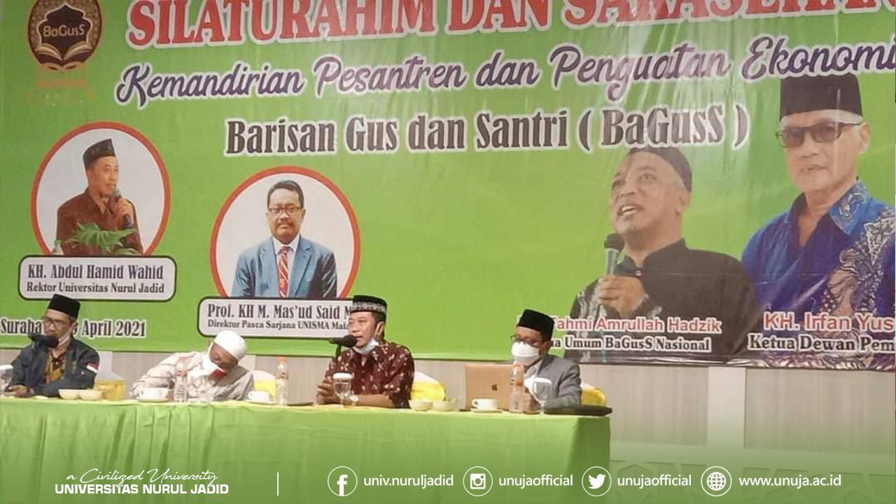 Rektor UNUJA Serukan Gerakan Ekonomi Pesantren Seluruh Indonesia