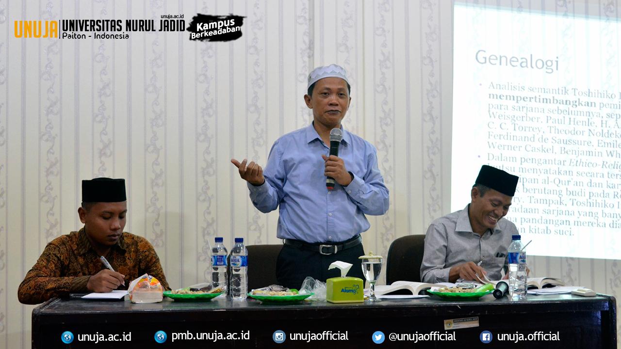 POMAS Gelar Bedah Buku Bertajuk Tuhan, Manusia dan Alam bersama Dosen Universitas Utara Malaysia