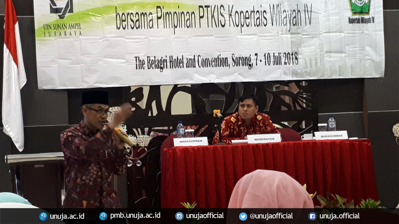 Rapim PTKIS Sorong-Papua Barat; Kiat UNUJA Sebagai Kampus Unggul